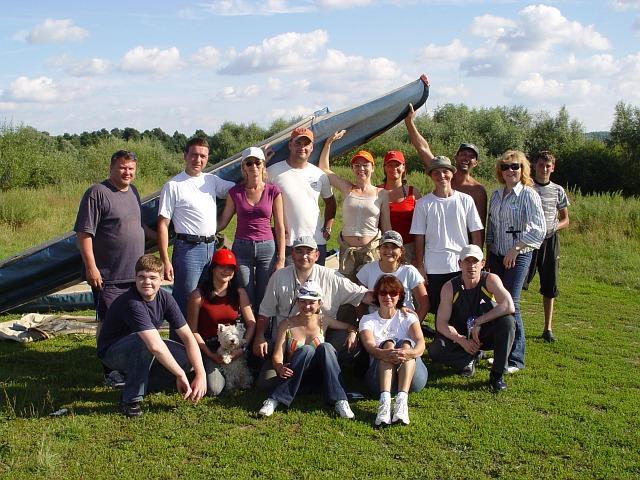 Байдарки. 4-6 августа 2006 г.